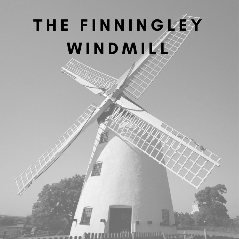 The Finningly Windmill at Doncaster Sheffield Airport