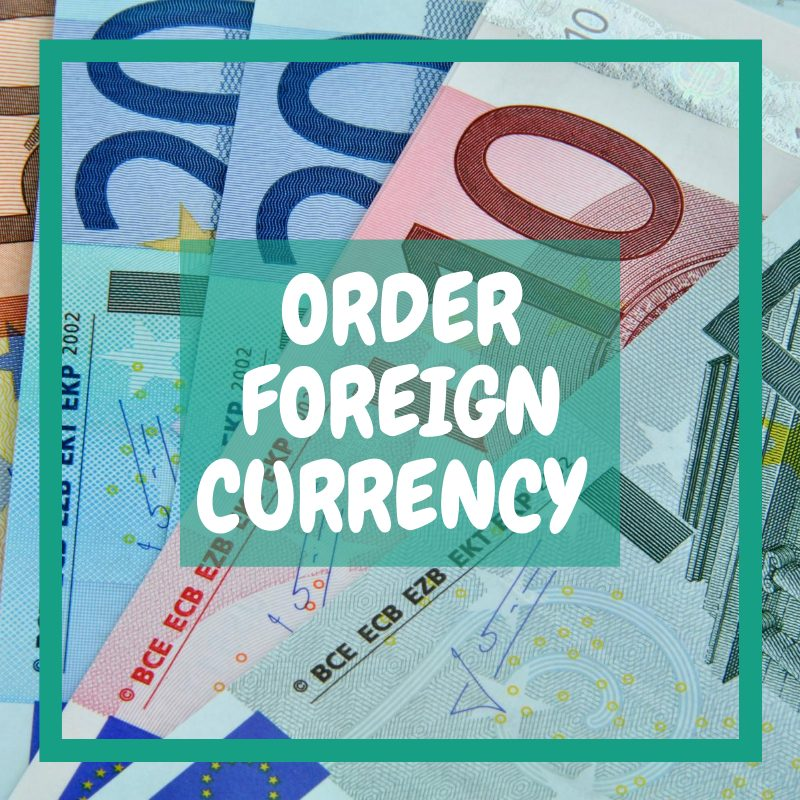 Doncaster airport departures - ordering foreign currency