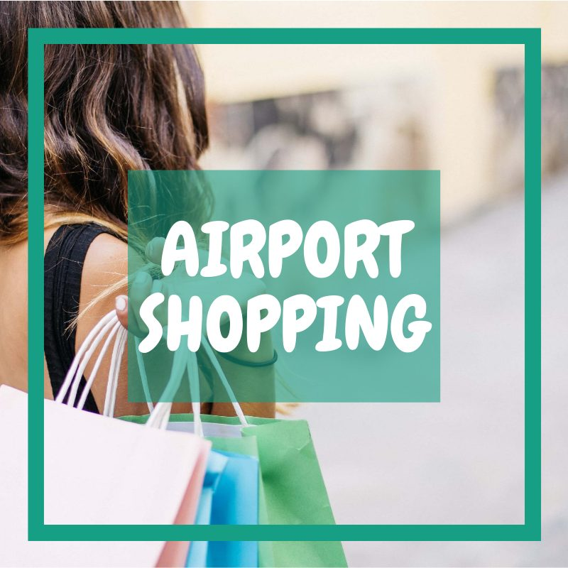 Doncaster Airport Terminal - shopping at the airport