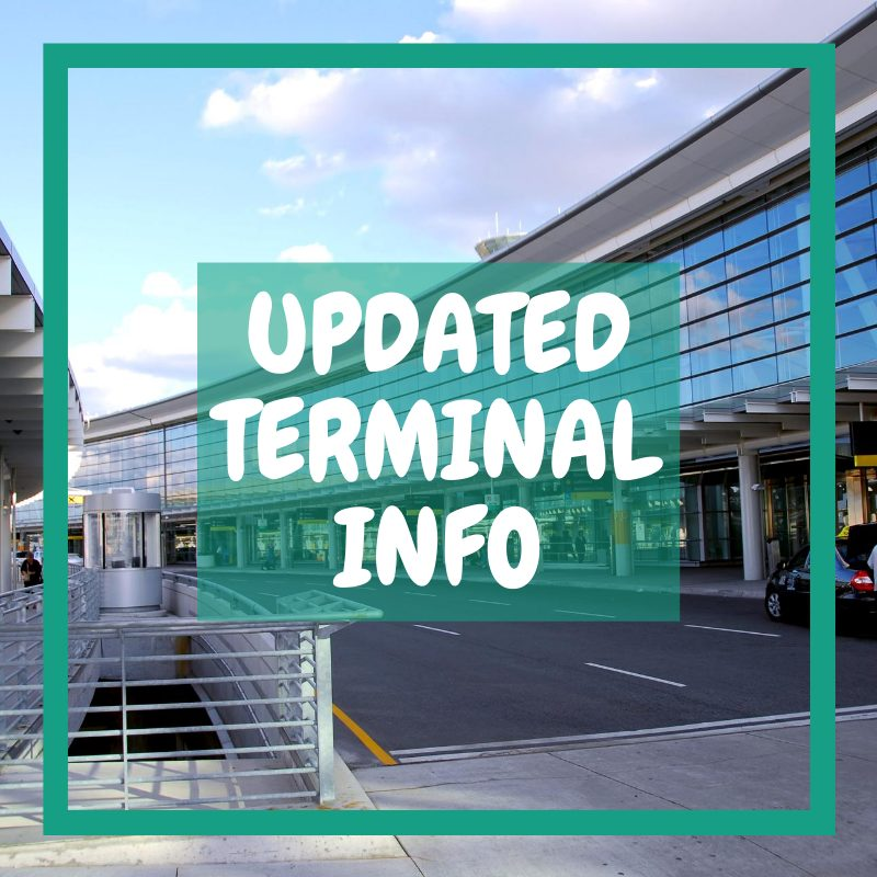 Doncaster airport departures - updated terminal information